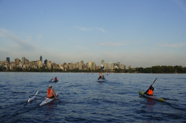 Photo from the Big Chop Summer Paddle Series in Vancouver, BC